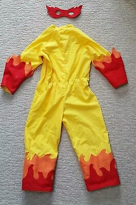 Kids Flame Costume with Mask Yellow Red Orange - Dress-up Pretend Play Halloween](Halloween Fun With Kids)