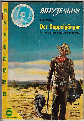 BILLY JENKINS Nr. 331 (2) guter Zustand UTA Verlag Roman ORIGINAL