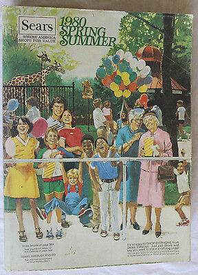 1980 SEARS Department Store Catalog - Spring Summer