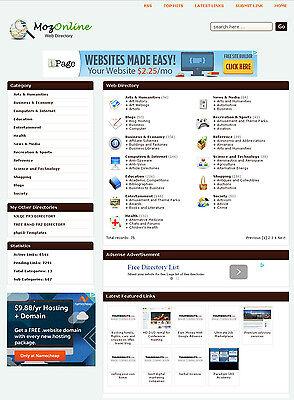 Links Directory Website - Preloaded