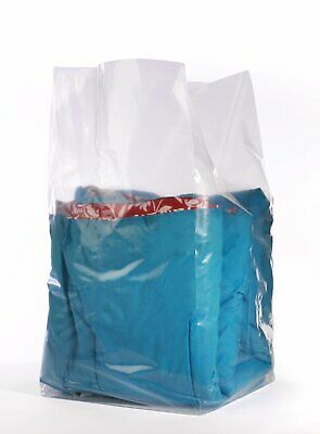 16x14x36 1.5 Mil Gusseted Poly Bags On Roll 250 Bags Per Roll - Laddawn 1495