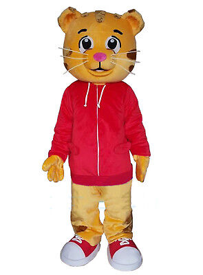 Daniel Tiger Mascot Costume Cartoon Animal Suit Fancy Cosplay Dress Adult - Adult Tiger Suit