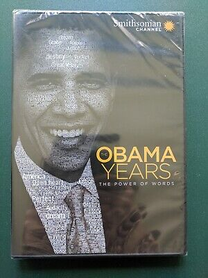 The Obama Years: The Power of Words (DVD, 2018) SEALED, Ohio seller, (The Obama Years The Power Of Words)