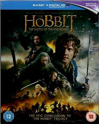 The Hobbit - The Battle of the Five Armies - Blu-ray -+ Digital HD - New
