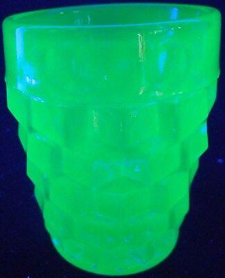 Blue Vaseline American Shot Glass Mug Tumbler Cup Uranium Whiskey Drinking Green