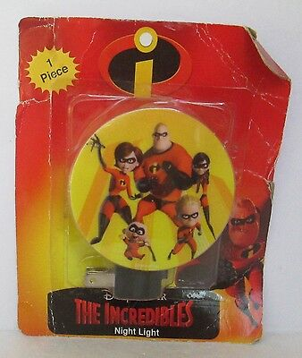 DISNEY PIXAR THE INCREDIBLES NIGHT LIGHT