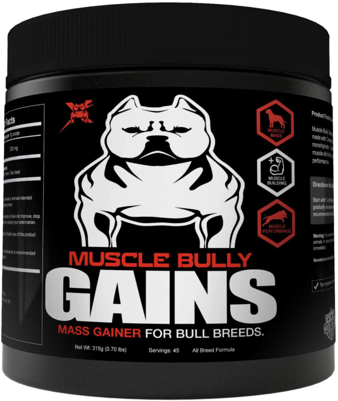 Gains Mass Weight Gainer Whey Protein For Dogs Bull Breeds P