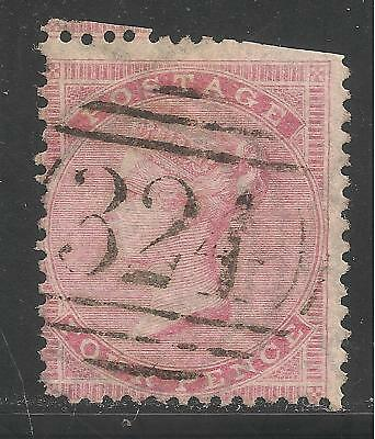Great Britain #34 (A11) USED FAULTS - 1862 4p Queen Victoria - SCV $75 for sale  Shipping to India
