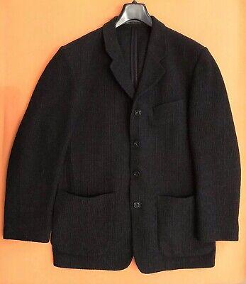 CAMEL Collection Herren Herbst Sakko Blazer Wolle/Polyester Gr.50 Schwarz