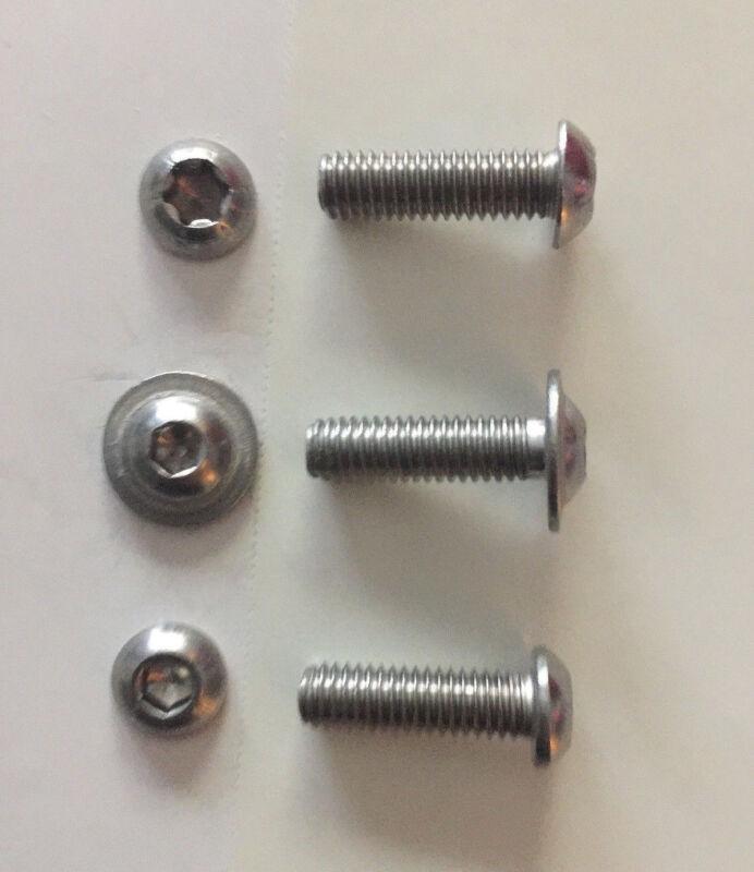2,4,6,8,10 vis ISK m6 x 45 mm DIN 912 Niro v2a
