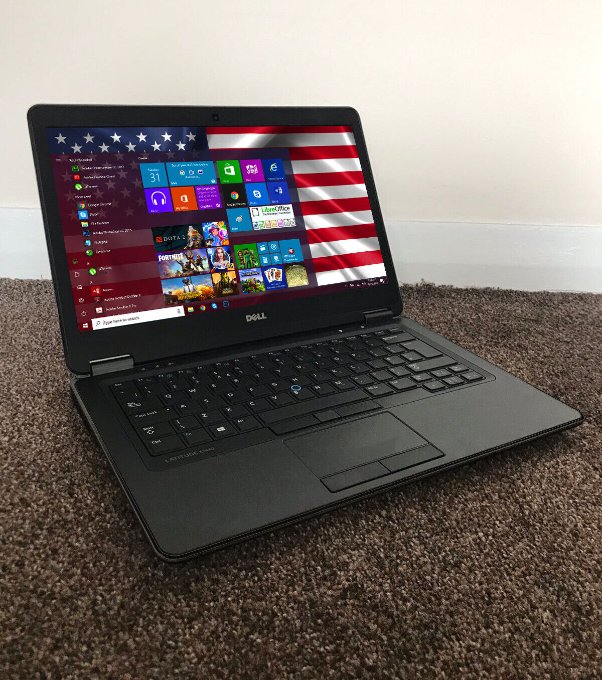 Laptop Windows - FAST LAPTOP FOR GAMES DELL CORE i7 WINDOWS 10 TOUCHSCREEN 16GB 1TB WIN COMPUTER
