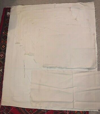Lot(9)  Raw Unstretched Cotton Duck Painting Art Canvas Painting @ various sizes