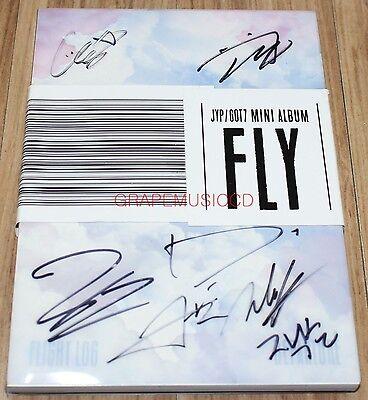 GOT7 FLIGHT LOG DEPARTURE 5th Mini Serenity SIGNED AUTOGRAPHED PROMO CD