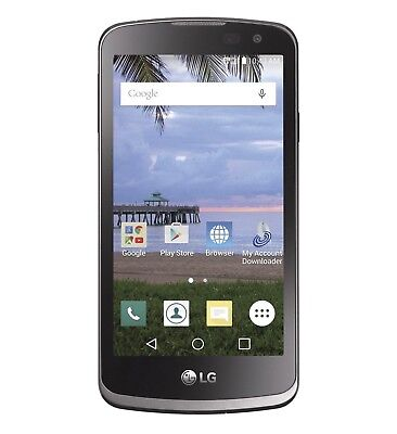 Tracfone Lg Rebel 4G Lte Prepaid Android Smartphone New Free Shiping