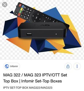 Iptv mag box now 149.99 with one month free instal @ home