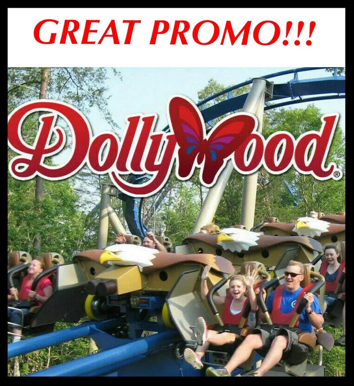Изображение товара DOLLYWOOD & SPLASH COUNTRY TICKET DISCOUNT TOOL GREAT SAVINGS ~ PROMO ONLY $40!
