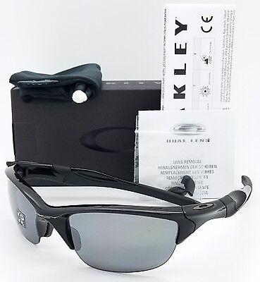 NEW Oakley Half Jacket 2.0 sunglasses Black Iridium Polarized 9144-04 AUTHENTIC