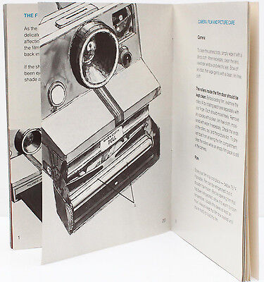 Polaroid OneStep Sears Instant Film Camera Manual Guide Instructions English