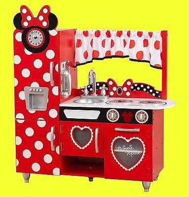 NUR HEUTE ! KIDKRAFT Disney Kinderküche Minnie 53371 - Spielküche Küche Retro