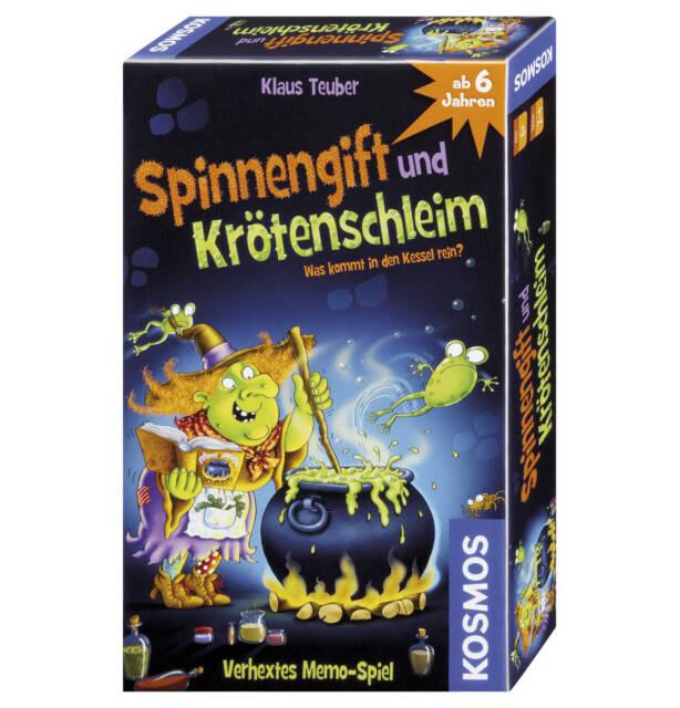 SPINNENGIFT UND KRÖTENSCHLEIM - Kosmos 711160 - NEU