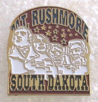 Mt. Rushmore National Memorial-South Dakota Souvenir Collector Pin Mount
