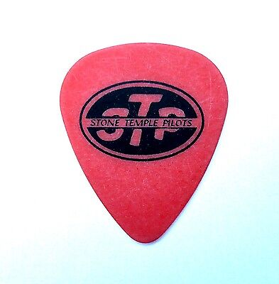 Stone Temple Pilots Orange Classic Logo guitar pick. Dean DeLeo