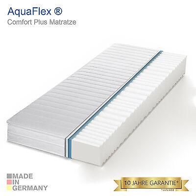 7 Zonen AquaFlex® Premium Comfort Marken Kaltschaum Matratze - Öko Zertifiziert
