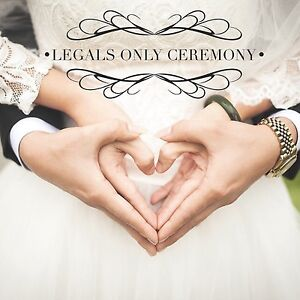 Legals Only Ceremony for $250 Bundall Gold Coast City Preview