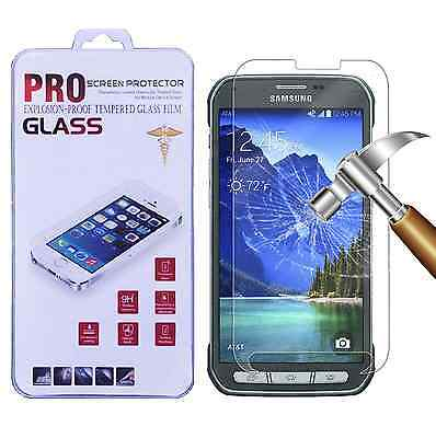 Premium Tempered Glass Screen Protector Film for Samsung Galaxy S5 Active