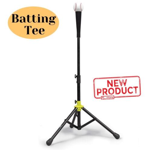 Baseball & Softball Batting Tee Adjustable Flexible Travel Easy Fold Design NEW