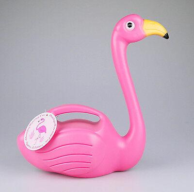 """Lustige Gießkanne """"Flamingo"""", Kunststoff, 1,5 Liter, für Balkon, Terasse, Garten"""