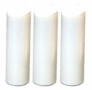3x replacement filter cartridges for slim in line shower water filter ebay. Black Bedroom Furniture Sets. Home Design Ideas