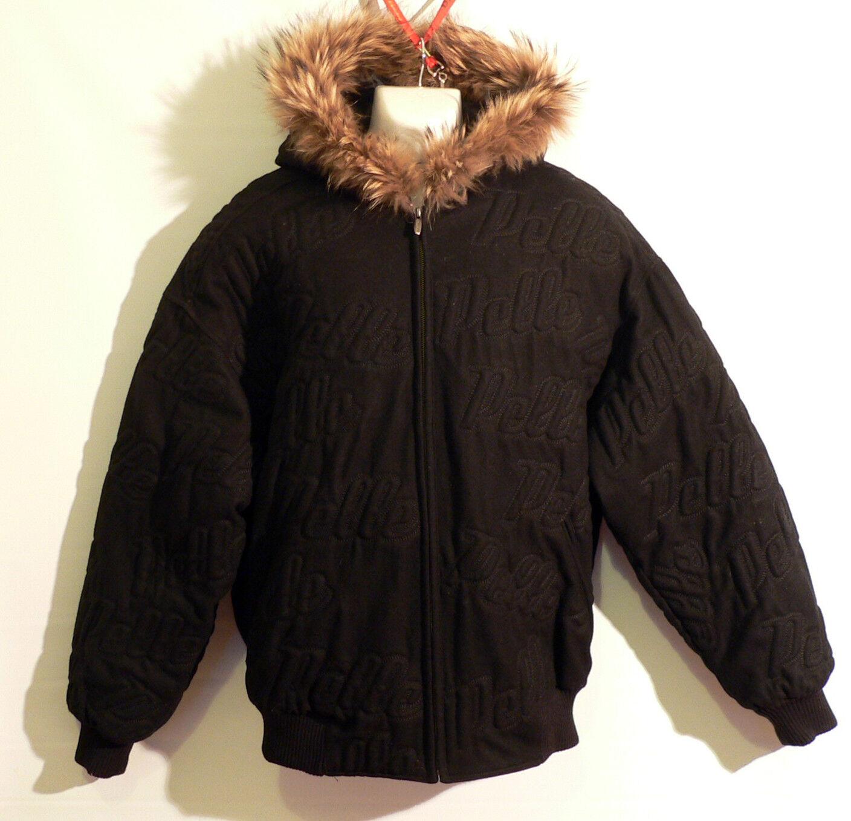 Pelle Pelle Winterjacke / winter jacket - Gr. L - Schwarz - Top Zustand