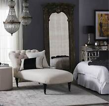 Cream French Provincial Daybed Armchair- Brand New With Tags Abbotsbury Fairfield Area Preview
