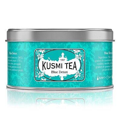 Kusmi Tea Blue Detox 125g Metalldose - Rooibos Grüntee Ananas Tee