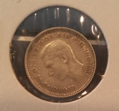 Rare 1942 M Australia Silver 3 P #2