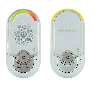 Motorola MBP8 Audio Baby Monitor with Wall-Plug Baby & Parent Unit