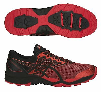 Asics Gel-Fujitrabuco 6 Black/Fiery Red/Black Men's Trail Running Shoes