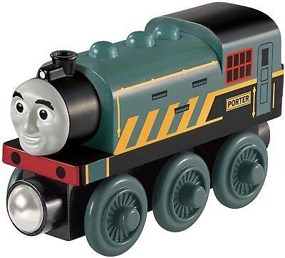 Mattel BDF98 Fisher-Price Thomas und seine Freunde Porter Holz Lokomotive Wooden