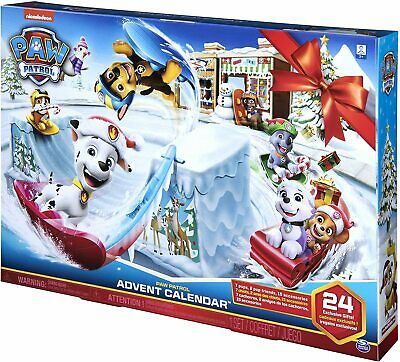 Paw Patrol Advent Calendar Christmas 24 Characters and Accessories