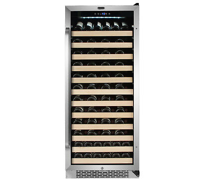 Whynter 100 Bottle Built-in Stainless Steel Compressor Wine Refrigerator