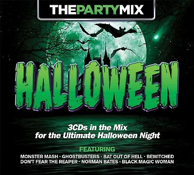 PARTY MIX HALLOWEEN 3 CD NEW SANTANA/FRANK SINATRA/ALICE COOPER/+ - Halloween Frank Sinatra