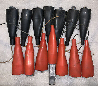 14 7 Sets Mueller Electric No. 13 Insulator 11a Alligator Clips 100 Amp Welding