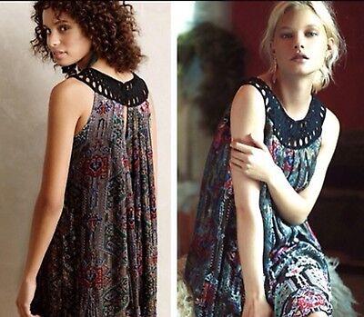 Linnea Velvet Swing Dress Size M Moulinette Soeurs Retail $228 Burnout NWT Fave