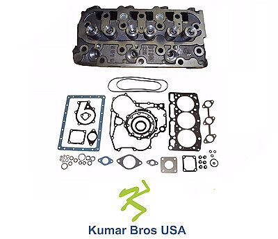 New Kubota D1105 Complete Cylinder Head Full Gasket Kit