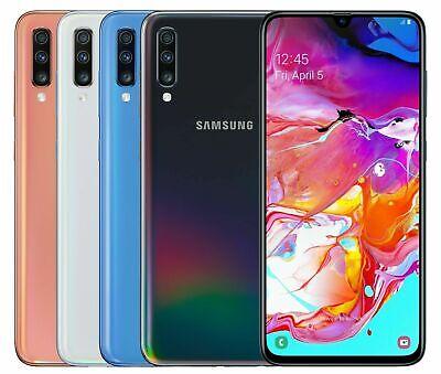 """NEW Samsung Galaxy A70 SM-A705MN/DS Dual Sim FACTORY UNLOCKED  6.7"""" 128GB 6GB"""