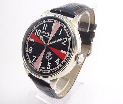 MOLNIYA ALBATROSS Vintage USSR Pocket Watch Large Radiorubka Scuba Mechanical