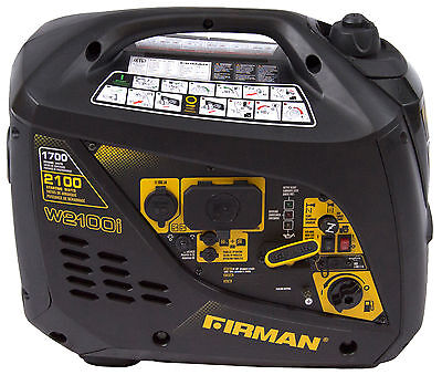 Firman Power Equipment W01781 17002100 Watt Portable Gas Inverter