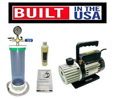 16 X 4 Pvc Slickvacseal Wood Stabilizing Chamber  3 Mastercool Pump