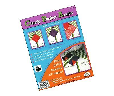 New Leaf Stitches NLSCPA08 Clearly Perfect Angles Sewing Templates 1